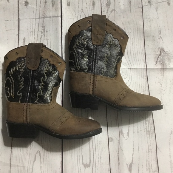 77bd43f69d5 Old West Buckaroo Toddler Boots NWOT NWT